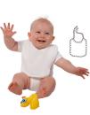 Baby Bib, Link Kids Wear BIB-12 // X950