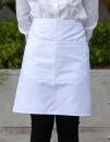 Baker`s Apron with Pocket, Link Kitchen Wear BS5090 Z //...