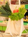 Baumwolltasche, Fairtrade-Baumwolle, natur, lange Henkel,...