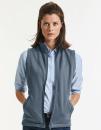 Ladies` Smart Softshell Gilet, Russell R-041F-0 // Z041F