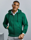 Men`s Authentic Zipped Hood Jacket, Russell R-266M-0 // Z266