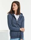 Ladies` HD Zipped Hood Sweat, Russell R-284F // Z284F
