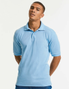 Hardwearing Polycotton Polo, Russell R-599M-0 // Z599