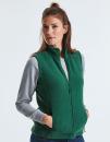 Ladies` Outdoor Fleece Gilet, Russell R-872F-0 // Z8720F