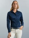 Ladies` Long Sleeve Classic Twill Shirt, Russell...