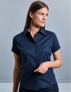 Ladies` Short Sleeve Classic Twill Shirt, Russell...