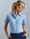 Ladies` Short Sleeve Classic Oxford Shirt, Russell...