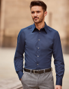 Men`s Long Sleeve Fitted Tencel® Shirt, Russell...