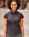 Ladies` Cap Sleeve Fitted Tencel® Shirt, Russell...