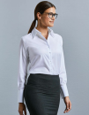 Ladies` Long Sleeve Tailored Ultimate Non-Iron Shirt,...