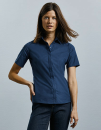 Ladies` Short Sleeve Fitted Ultimate Stretch Shirt,...