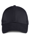 Solid Brushed Twill Cap, Anvil 136 // A136 Black   One Size