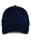 Solid Brushed Twill Cap, Anvil 136 // A136 Navy   One Size