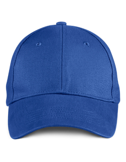 Solid Brushed Twill Cap, Anvil 136 // A136