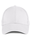 Solid Brushed Twill Cap, Anvil 136 // A136 White   One Size