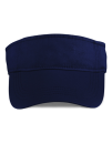 Low-Profile Twill Visor, Anvil 158 // A158 Navy | One Size