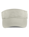 Low-Profile Twill Visor, Anvil 158 // A158 Wheat | One Size