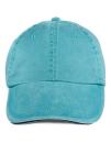 Sandwich Trim Pigment Dyed Cap, Anvil 166 // A166 Aqua | One Size