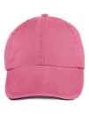Sandwich Trim Pigment Dyed Cap, Anvil 166 // A166 Flamingo | One Size