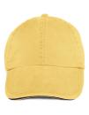 Sandwich Trim Pigment Dyed Cap, Anvil 166 // A166 Sunshine | One Size
