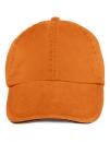 Sandwich Trim Pigment Dyed Cap, Anvil 166 // A166 Tangerine | One Size