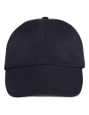 Low-Profile Brushed Twill Cap, Anvil 176 // A176 Black | One Size