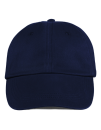 Low-Profile Brushed Twill Cap, Anvil 176 // A176 Navy | One Size