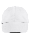Low-Profile Brushed Twill Cap, Anvil 176 // A176 White | One Size