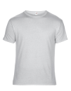 Featherweight Tee, Anvil 361 // A361 Silver (Solid)   S
