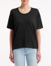 Women`s Freedom Tee (oversized), Anvil 36PVL // A36PVL Black | XS
