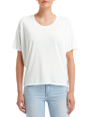 Women`s Freedom Tee (oversized), Anvil 36PVL // A36PVL White | XS