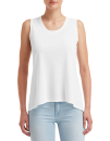 Women`s Freedom Sleeveless Tee, Anvil 37PVL // A37PVL White | XS