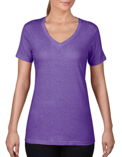 Women`s Featherweight V-Neck Tee, Anvil 392 // A392