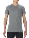 Lightweight Long & Lean Tee, Anvil 5624 // A5624 Heather Graphite | S