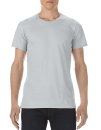 Lightweight Long & Lean Tee, Anvil 5624 // A5624 Silver (Solid) | S