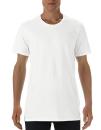 Lightweight Long & Lean Tee, Anvil 5624 // A5624 White | S