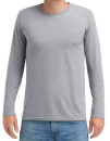 Adult Tri-Blend Long Sleeve Tee, Anvil 6740 // A6740 Heather Grey   S