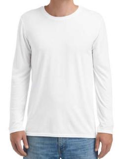 Adult Tri-Blend Long Sleeve Tee, Anvil 6740 // A6740