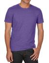 Tri-Blend Tee, Anvil 6750 // A6750 Heather Purple   XS