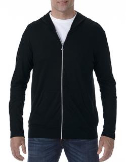 Tri-Blend Full-Zip Hooded Jacket, Anvil 6759 // A6759