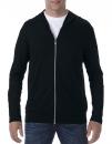 Tri-Blend Full-Zip Hooded Jacket, Anvil 6759 // A6759 Black   S