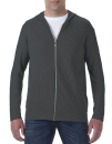 Tri-Blend Full-Zip Hooded Jacket, Anvil 6759 // A6759 Heather Dark Grey   S