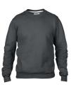 Crew Neck Sweatshirt, Anvil 71000 // A71000 Charcoal (Solid)   S