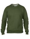 Crew Neck Sweatshirt, Anvil 71000 // A71000 City Green   S