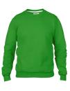 Crew Neck Sweatshirt, Anvil 71000 // A71000 Green Apple   S