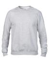 Crew Neck Sweatshirt, Anvil 71000 // A71000 Heather Grey   S