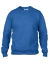 Crew Neck Sweatshirt, Anvil 71000 // A71000 Royal Blue   S