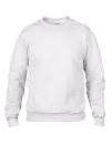 Crew Neck Sweatshirt, Anvil 71000 // A71000 White   S