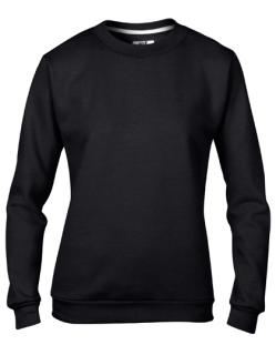 Women`s Crew Neck Sweatshirt, Anvil 71000FL // A71000FL