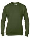 Women`s Crew Neck Sweatshirt, Anvil 71000FL // A71000FL City Green   S